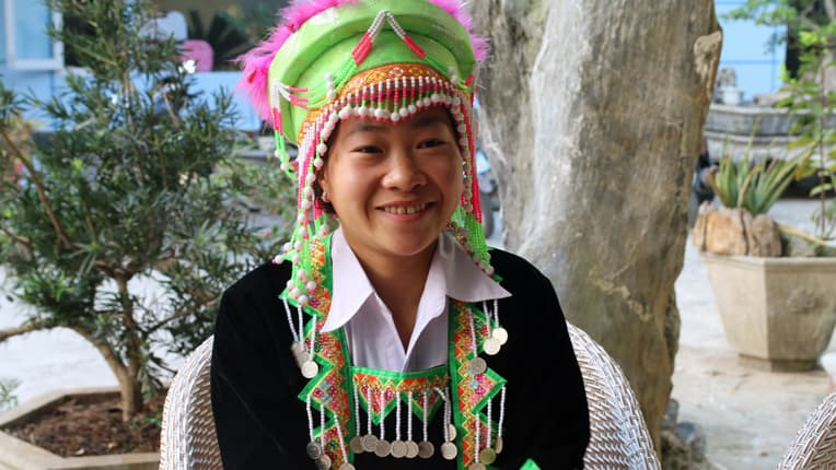 Hang Thi Ve completed her training with Samaritan's Purse in 2016.