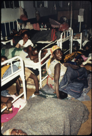 Overcrowded conditions at Tenwek Hospital in Kenya moved Franklin Graham to get involved.