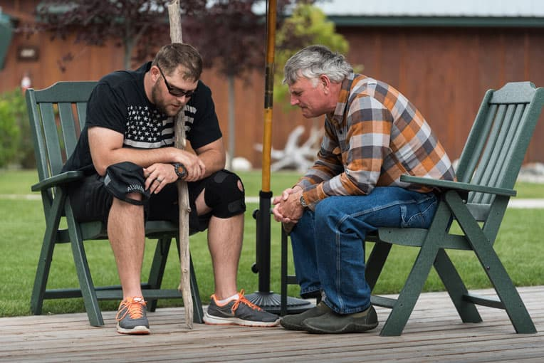 Operation Heal Our Patriots began as the number of wounded veterans continued to climb and a growing number of military marriages were crumbling in the U.S.