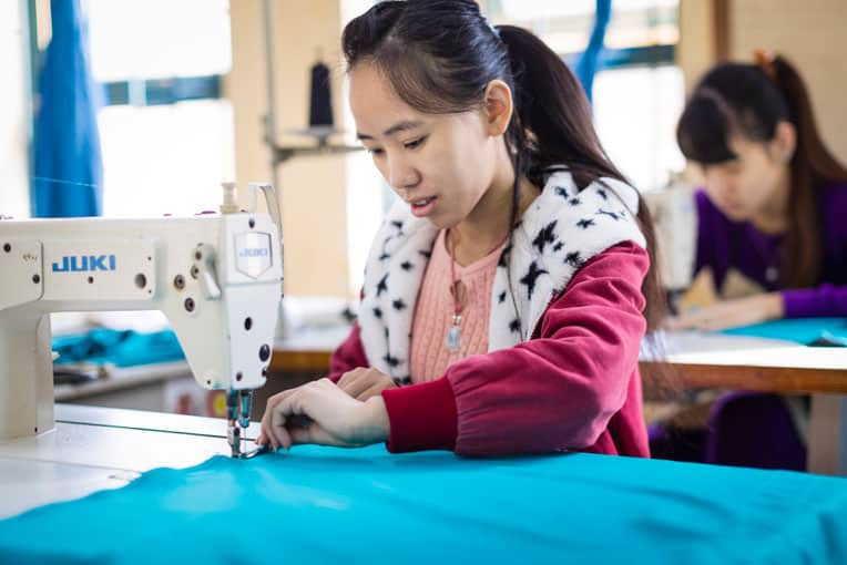 Thao hopes to open a shop near her parent's home when she finishes embroidery training.
