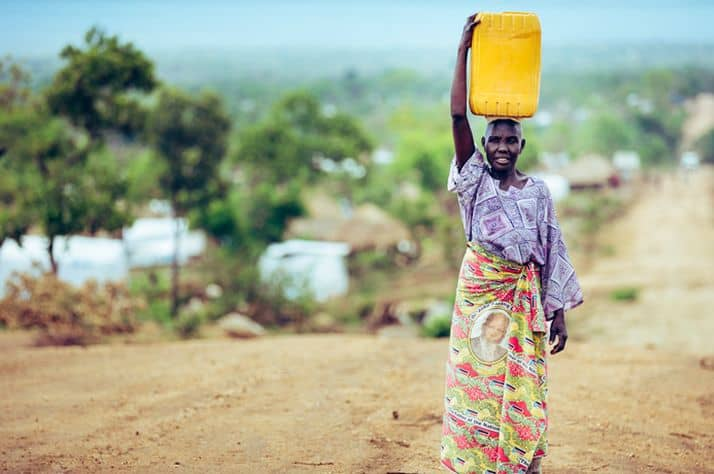 One Million South Sudanese Refugees Now in Uganda