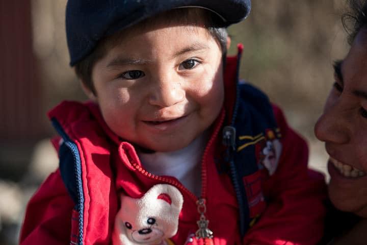 Carlos had his cleft lip repaired by a Samaritan's Purse medical team.