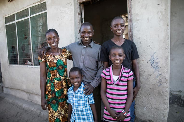 Kwale's mother has prayed faithfully for years. Now Kwale and even his father have trusted in Jesus for salvation.