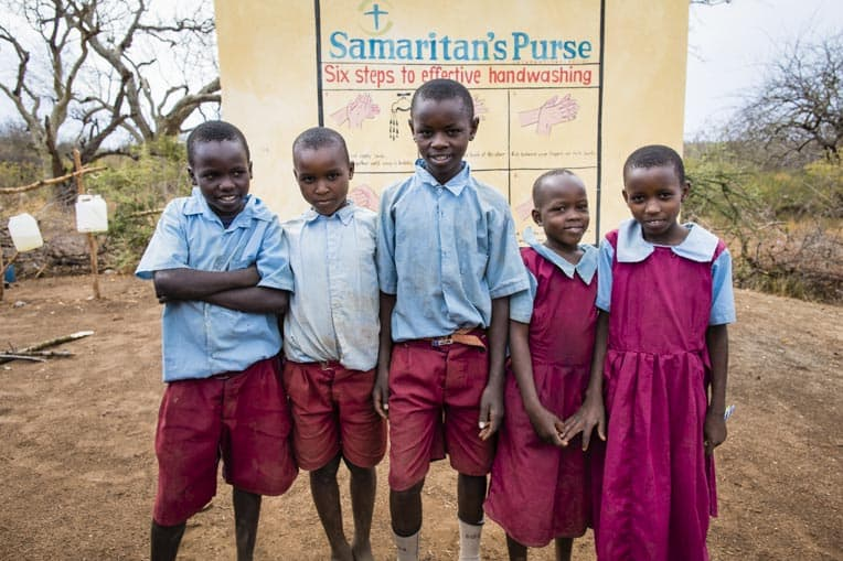 Samaritan's Purse has been doing water, sanitation, and hygiene projects at the school for several years.