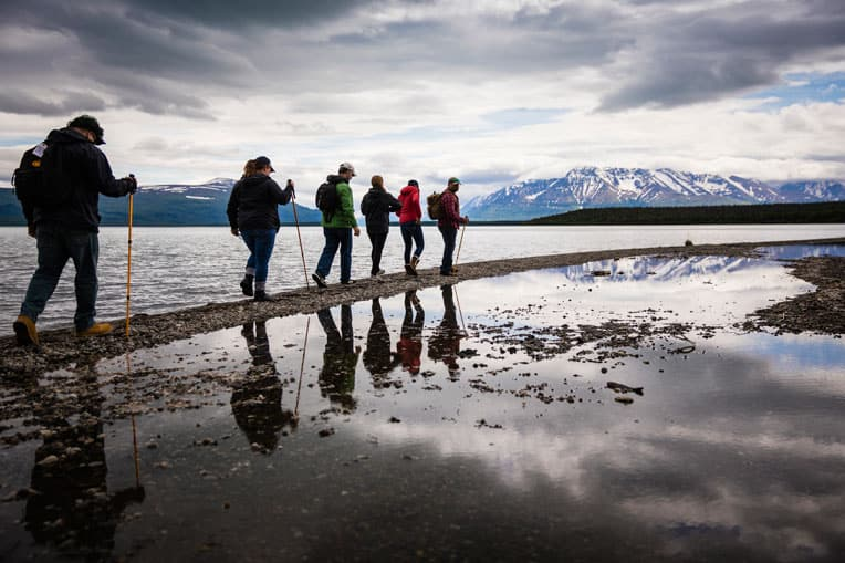 Alaska provides a beautiful, picturesque backdrop for marriage enrichment through Operation Heal Our Patriots. Hiking in pristine wilderness offers veterans and their spouses time to connect with each other, other military couples, and with God.