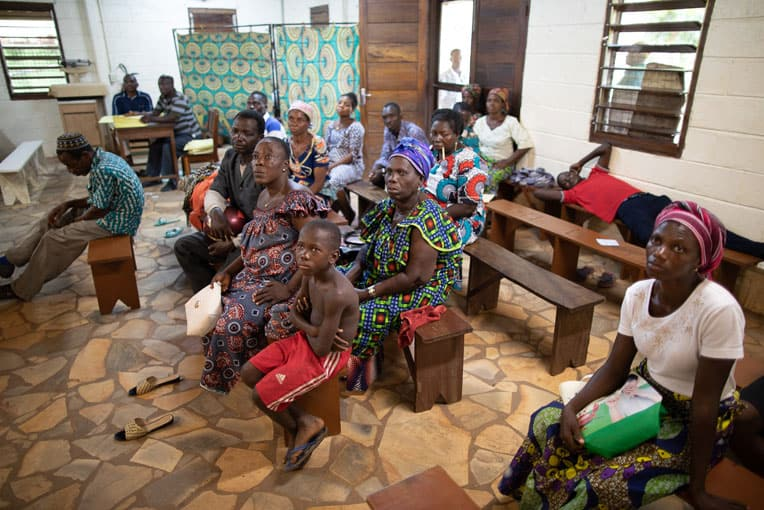 Most patients at Hoptial Baptiste Biblique are Togolese, but some also come from Ghana, Burkina Faso, and Benin.