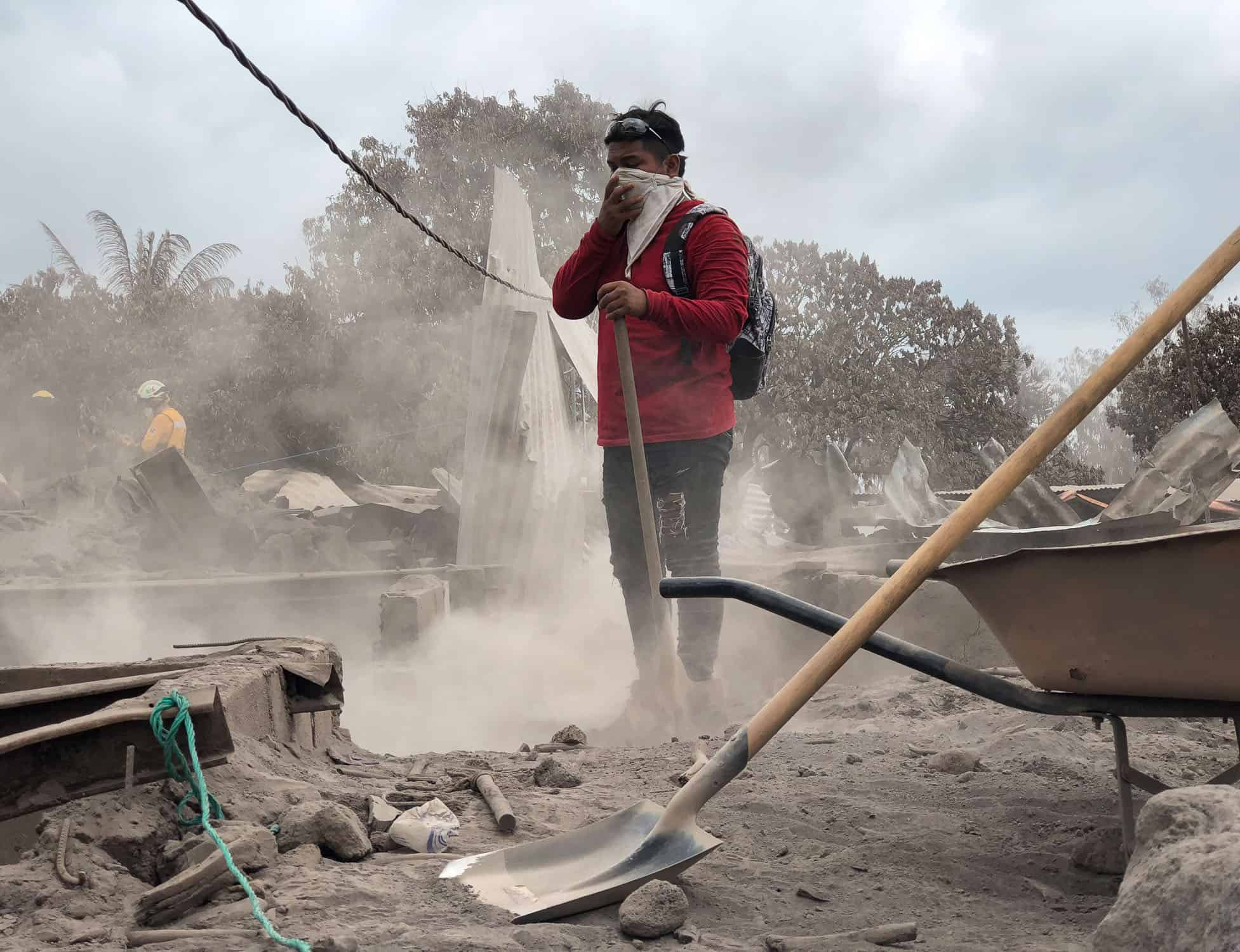 Nearly 200 people are still missing after the Fuego Volcano erupted in Guatemala. Samaritan's Purse is assisting people in desperate need in Jesus' Name. Samaritan's Purse, through local partners, is distributing emergency shelter, food, hygiene kits, and chemical filtration masks (due to the volcano's toxic gases).