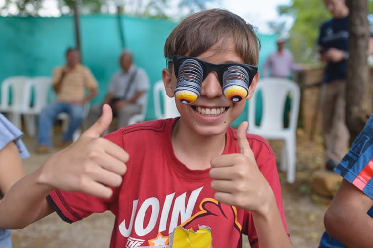 Funny glasses are a great gift for any kid!
