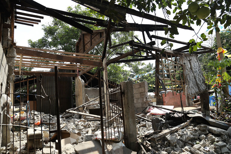 The devastation from the earthquakes in Cotabato and Mindanao is immense.
