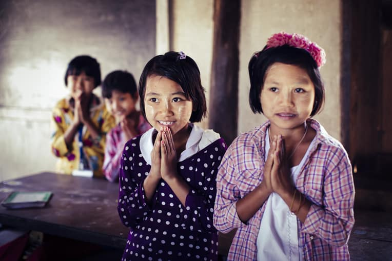 Please pray that the children of Myanmar will come to know God's love for them.