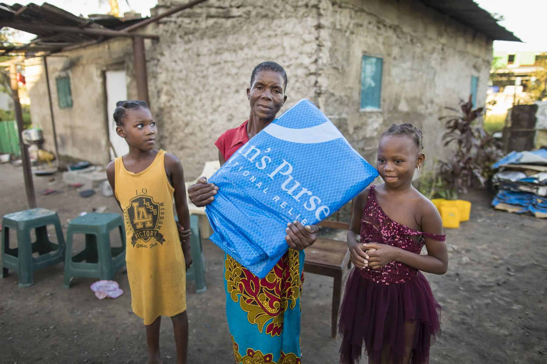 Samaritan's Purse has already started distributing emergency shelter materials to Cyclone Idai survivors in Beira, Mozambique.