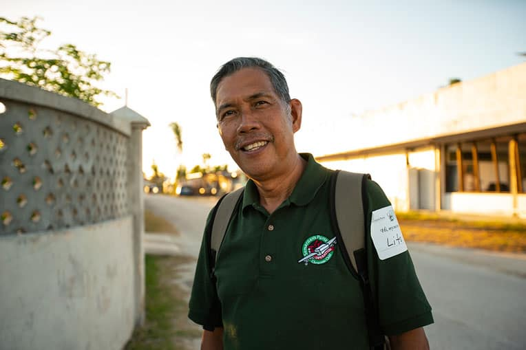 Pastor Manuelito Rey and Cornerstone Christian Church hosted two Operation Christmas Child outreach events.