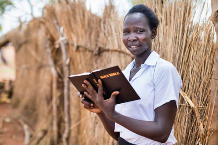 Samaritan's Purse has supplied hundreds of thousands of Bibles to the people of South Sudan.
