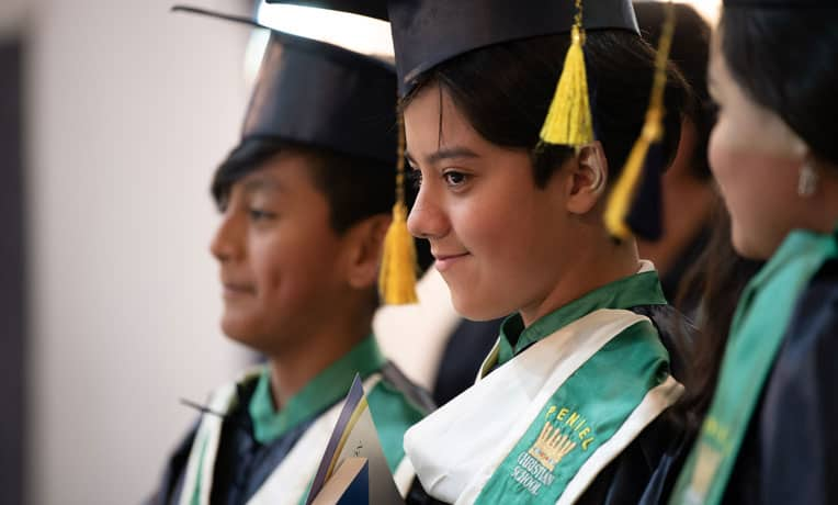 Children graduate from The Greatest Journey at Good Shepherd Church in Pifo, Ecuador, 10 years after the initial class was hosted there.