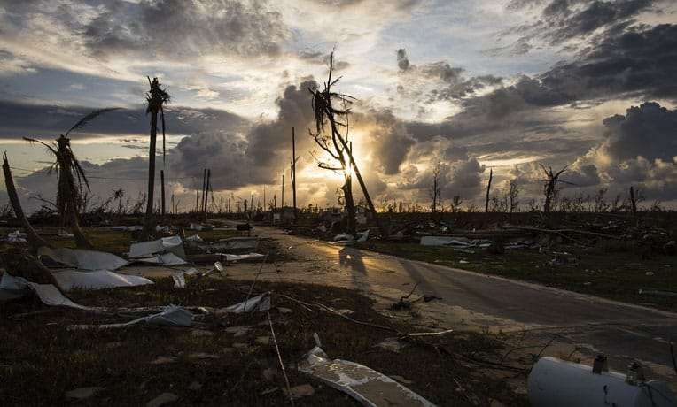 The Bahamas suffered incredible damage during Hurricane's Dorian assault on the islands.