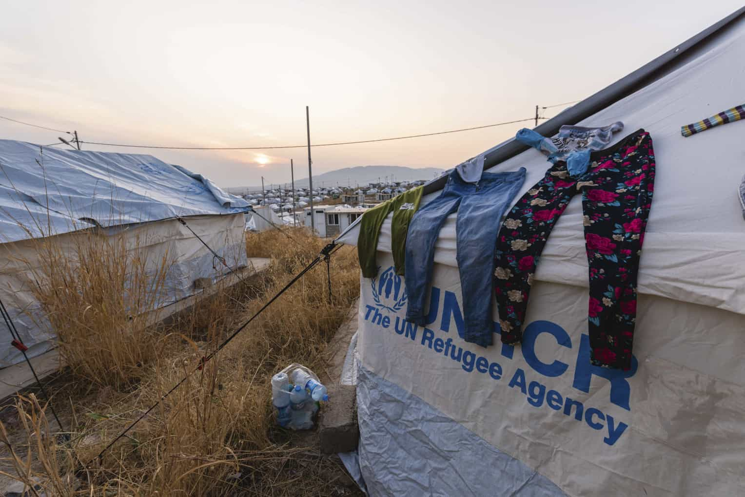 Bardarash camp has reached capacity with over 12,000 refugees.