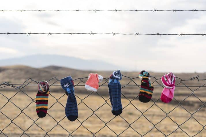 Bardarash camp is now home to even the littlest refugees.