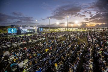 Getting involved with the evangelistic festival and with Operation Christmas Child led to connections with other pastors and leaders on Guam.
