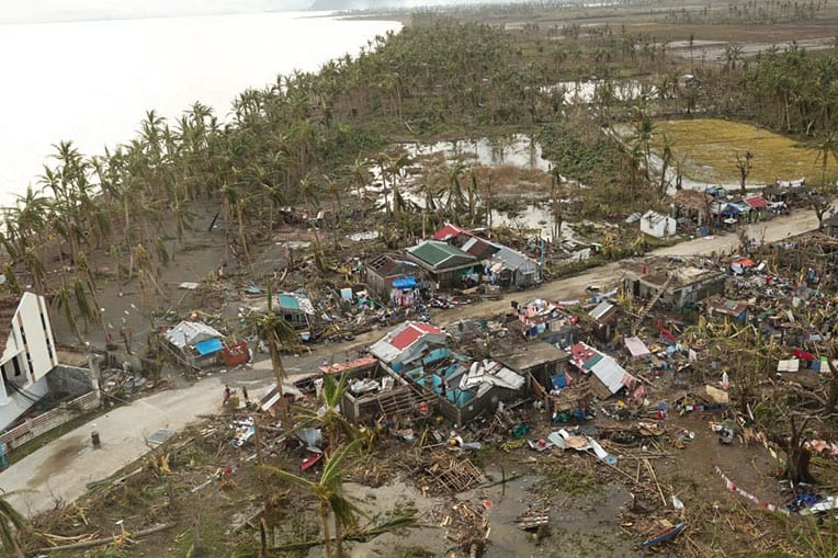 Many homes have been damaged or destroyed.