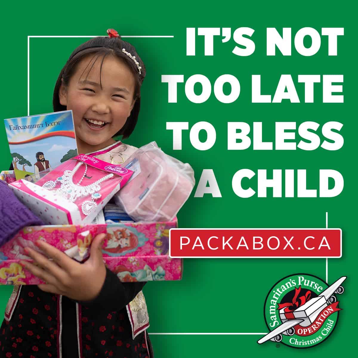 pack shoeboxes online instagram
