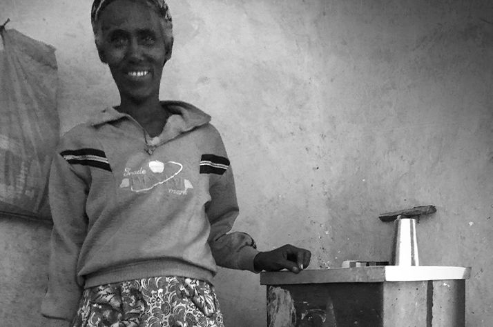 After 20 years, this Ethiopian woman's BioSand Water Filter still going strong