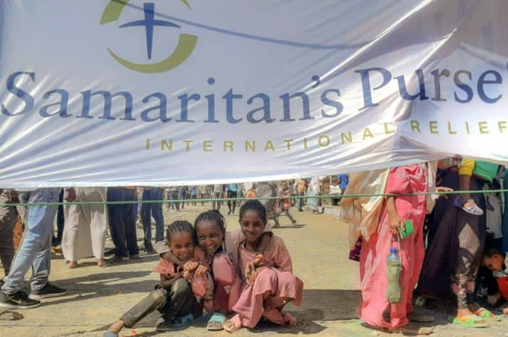 Samaritan's Purse is distributing supplies to suffering families and children in the Tigray region of Ethiopia.