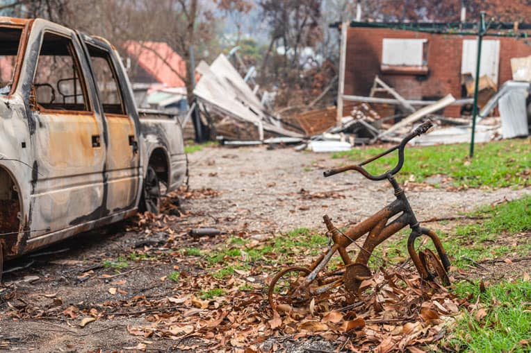 Please continue to pray for families struggling in the aftermath of these devastating fires. Pray for our volunteers as they demonstrate God's love and compassion.