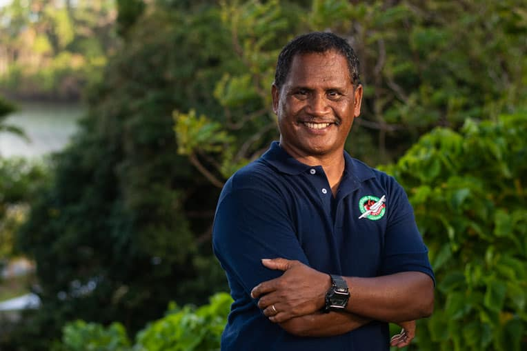 Rengesuul Yobech is helping to lead Operation Christmas Child's efforts in the Pacific.