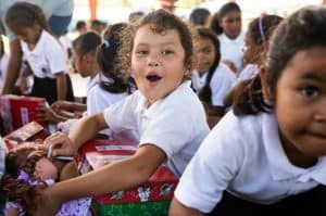 Operation Christmas Child Is Bringing the Hope of the Gospel to 1,000 Pacific Islands