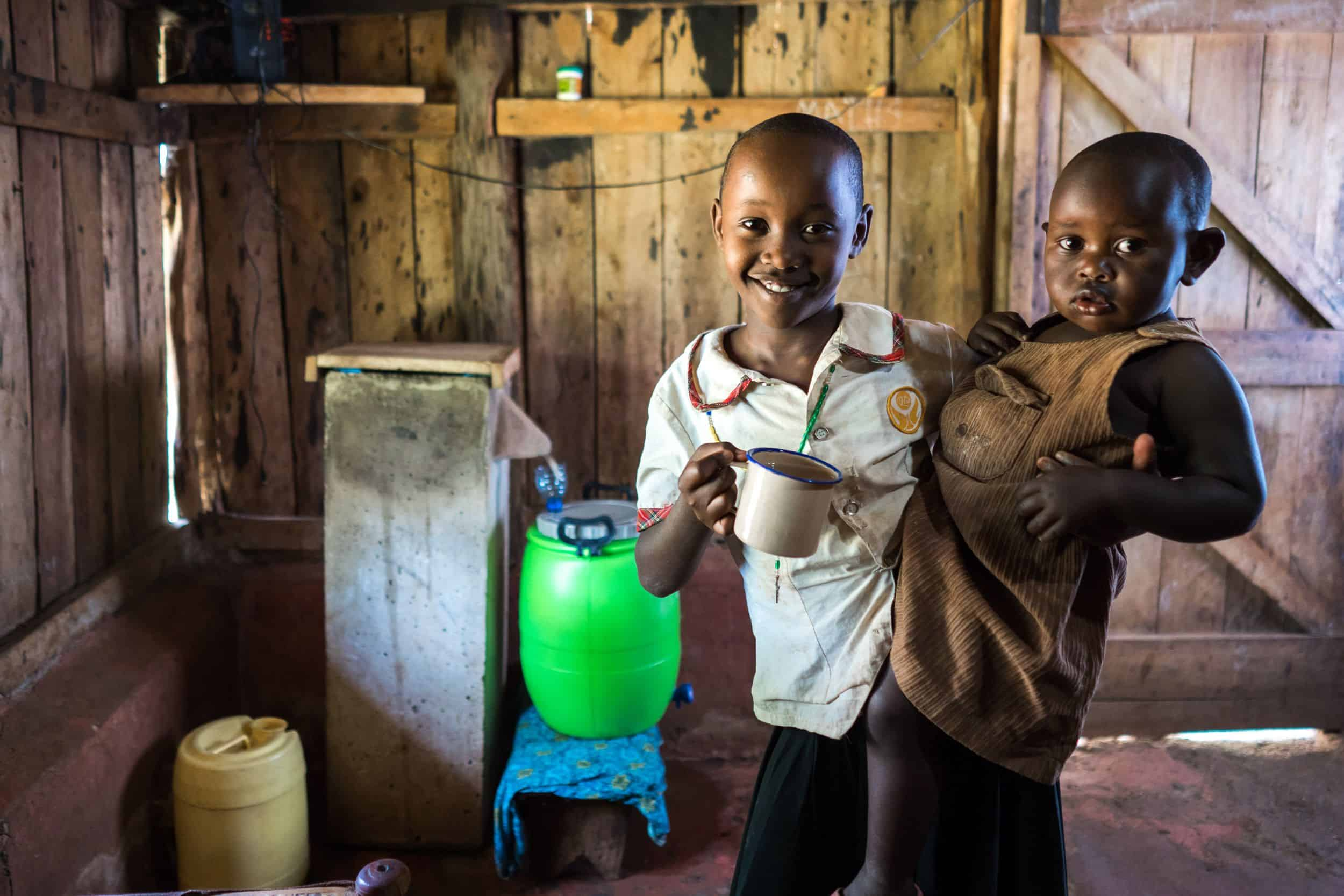 Household water filters help ensure that families can enjoy safe drinking water.