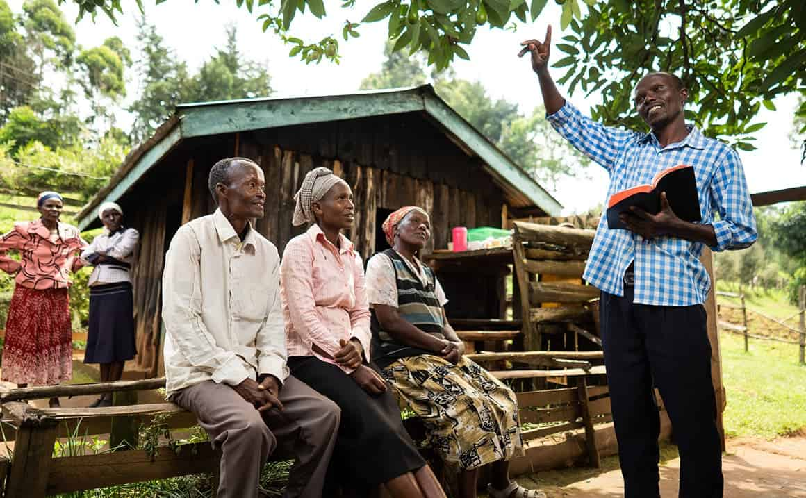 A Samaritan's Purse evangelism training encouraged Philip and others in his church to share the Gospel with their neighbors.