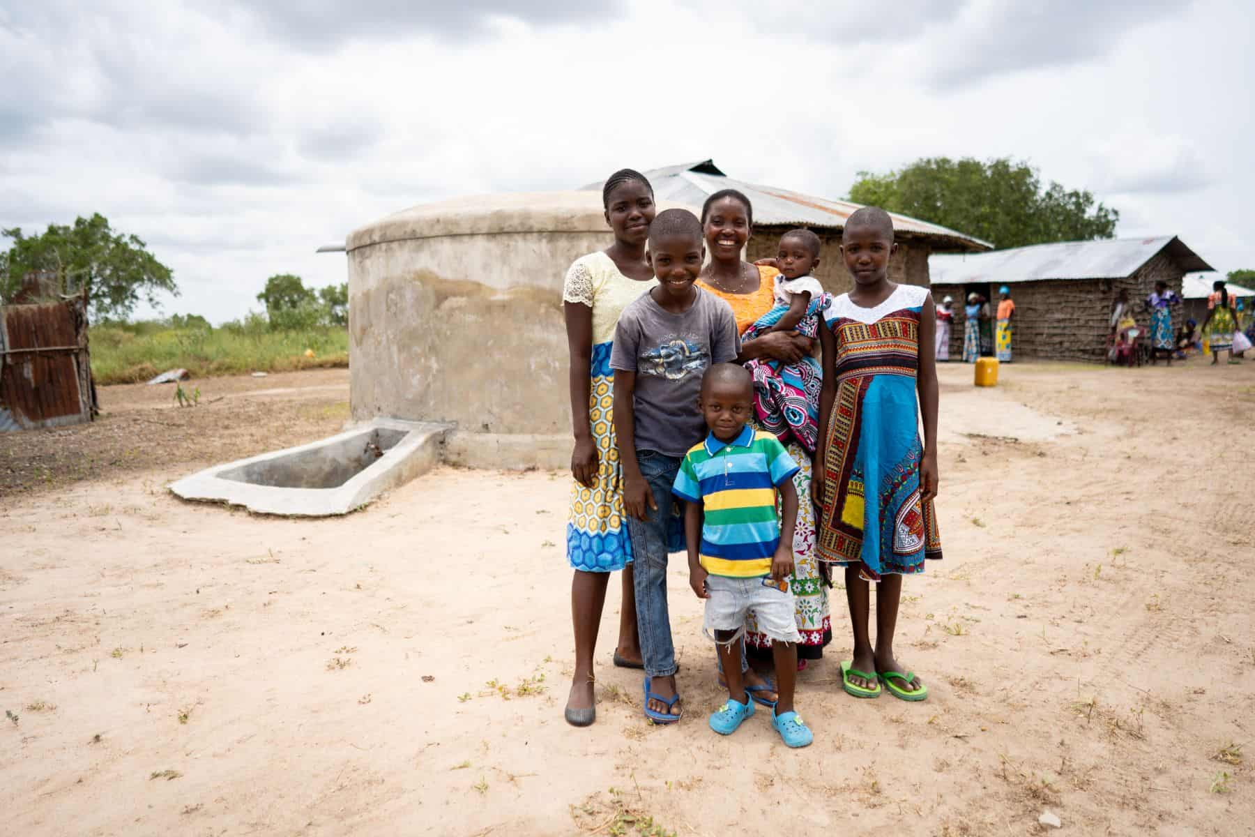 Eunice and her children rejoice in a new, nearby water source, a BioSand Water Filter, hygiene training, and best of all, new life in Jesus Christ. God uses your prayers and gifts to make this possible.
