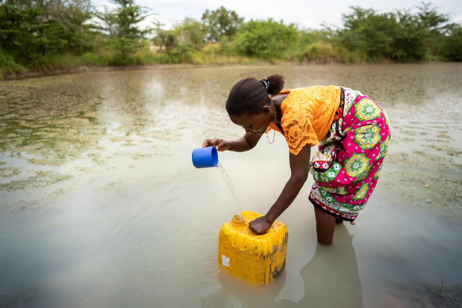 Samaritan's Purse is creating water pans/ponds in communities where water scarcity presents daily challenges and stress.