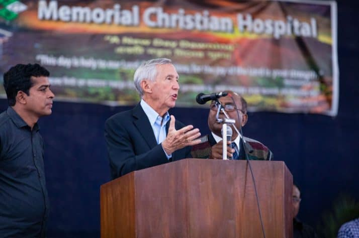 Dr. Richard Furman was cofounder of World Medical Mission with his brother Lowell. A wing of the hospital was dedicated in Lowell's honor.
