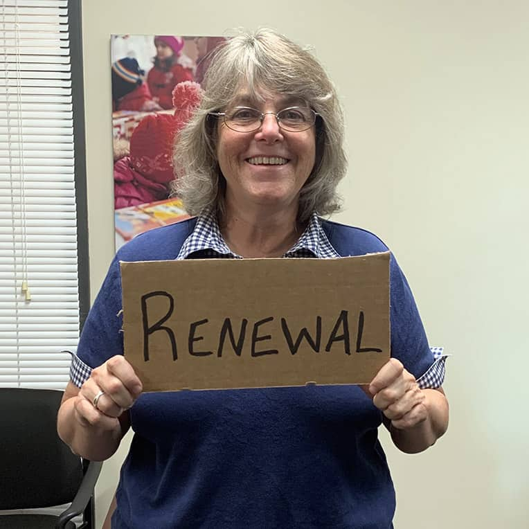 "Serena Butler sees how shoebox gifts bring ""renewal"" into the lives of many."