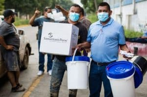 Emergency Field Hospital and Relief Supplies Airlifted to Hurricane-Hit Honduras
