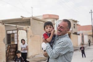 Families are returning to Sinjar, seeking to rebuild their lives after the horrors of 2014