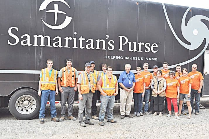 Volunteers from organizations such as Samaritan's Purse, Christian Ministries and Bill Graham Rapid Response Relief, are in Williams Lake to help provide support for wildfire victims and volunteers. The teams are being hosted by the Calvary Church with support from other local churches.