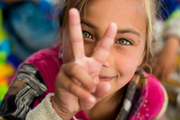 Samaritan's Purse is creating Child-Friendly Spaces for children of Mosul.
