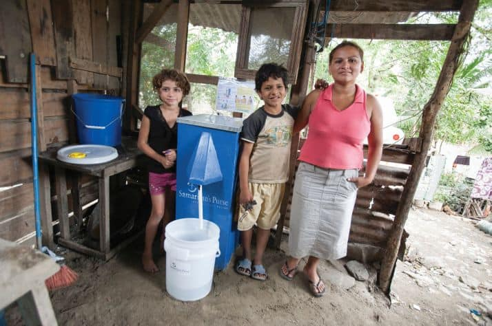 1.5 million people now have long-term safe water because of BioSand Filters through Samaritan's Purse.