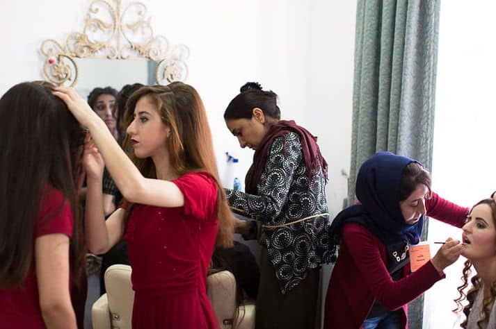 Beauty is more than skin deep for the displaced of Iraq