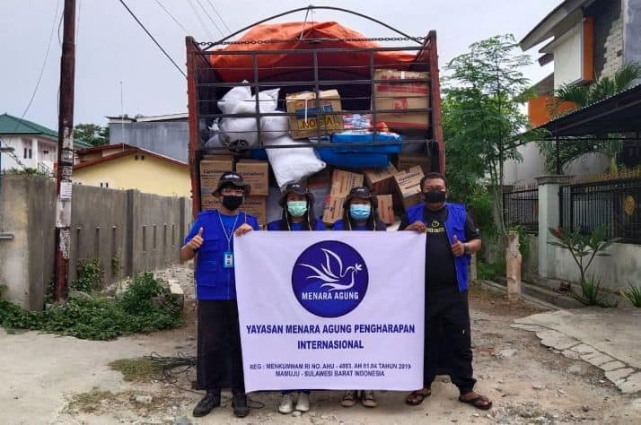 Samaritan's Purse partners are on the ground in Indonesia, distributing supplies to victims of the earthquake.