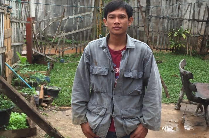 After getting involved in drug use and other illegal activities, Bee found hope and healing at Transformation Center, a halfway house in Laos funded by Samaritan's Purse.