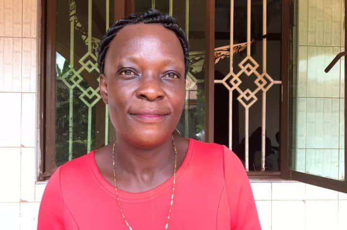 """Because of the street I am HIV positive,"" says Sarah Akol Matthew Fisher/National Post"