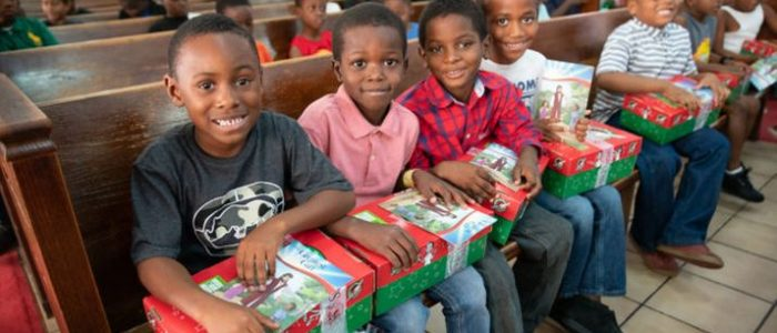 Operation Christmas Child shares the love and hope of Jesus Christ with children in the hurricane-battered Bahamas.