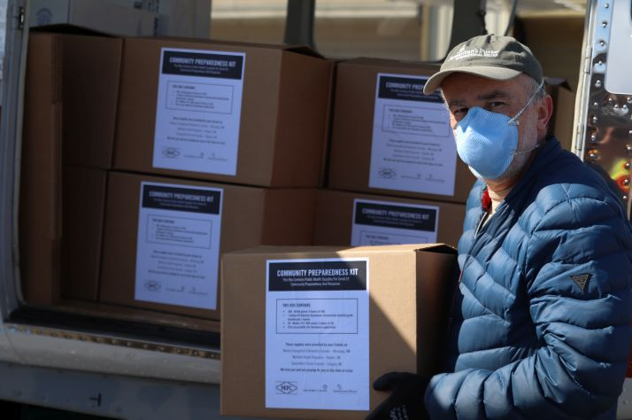 Last year we sent a provision of masks, gloves, and other critical supplies are a lifeline against the spread of COVID-19 for remote First Nations in the North.