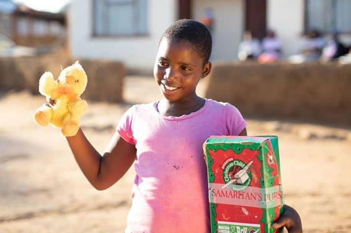 It started with a shoebox gift: Children share Christ with their friends in Botswana
