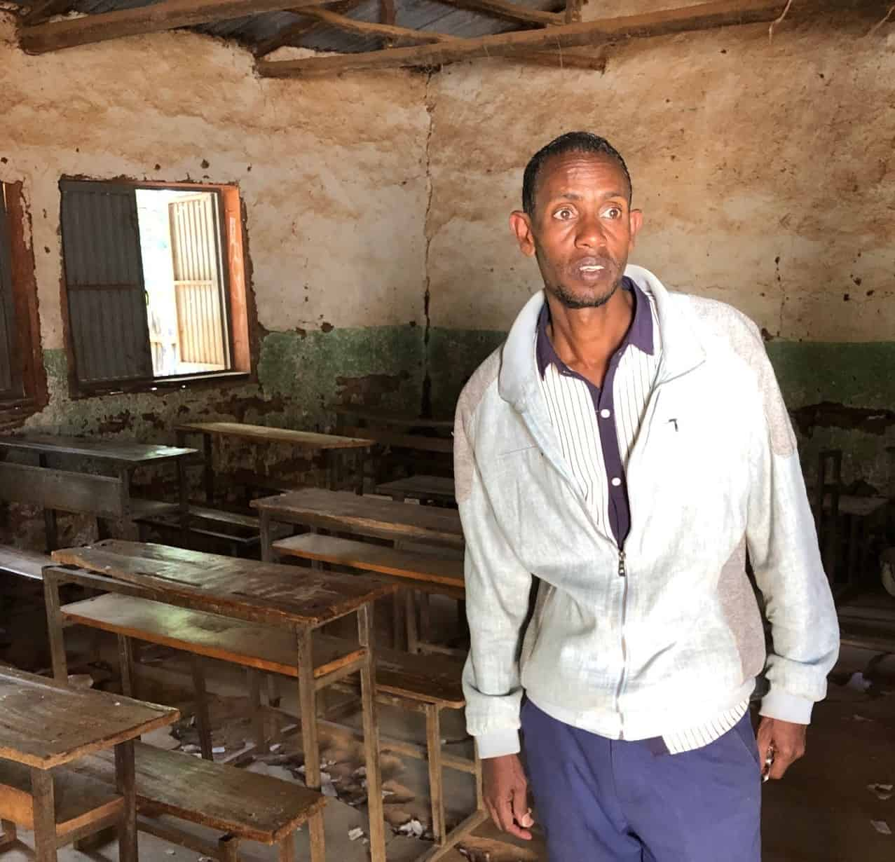 Ethiopian students in Kifle Gami's school faced an uncertain future before their water filter arrived