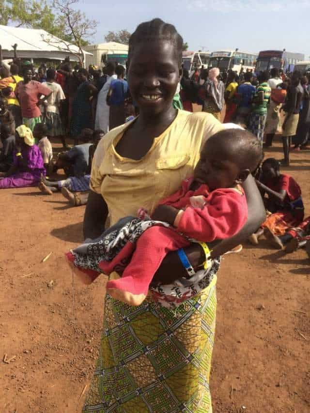 Margaret Kuyunge is a South Sudanese refugee in a camp in Uganda