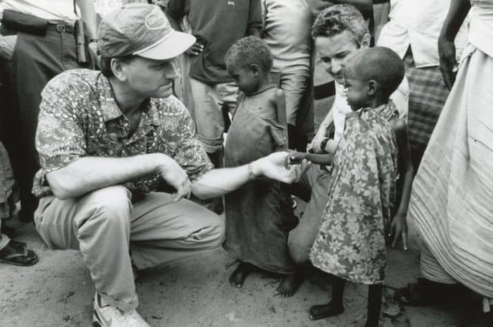 As Franklin Graham surveyed the needs in Somalia in 1992, God moved his heart to get Samaritan's Purse involved.